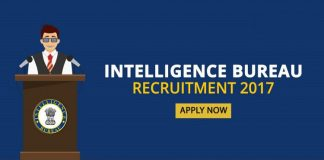 Intelligence Bureau Recruitment 2017 for 1300 ACIO jobs