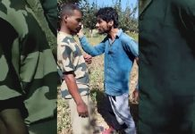 Armed forces personnel caught stealing Apples; video goes viral