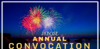 JKBOSE Annual Convocation