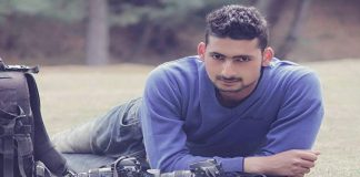 Photo-cum-video journalist Kamran Yousuf