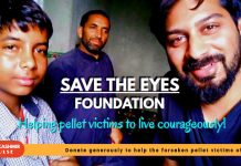 Save The Eyes Foundation - Helping pellet victims to live courageously!
