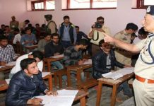 J&K Police Constable Recruitment Written Test held at 61 Centres