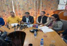 Kashmir Chamber of Commerce & Industries (KCCI) and Jammu Chamber of Commerce & Industries (JCCI) Press Conference