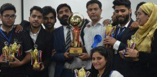 CUK MBA Students bag Awards