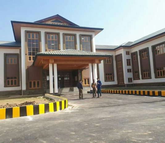 District Court complex inaugurated at Pulwama