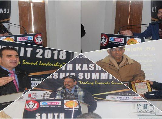 South Kashmir Leadership Summit 2018 organised in Pulwama