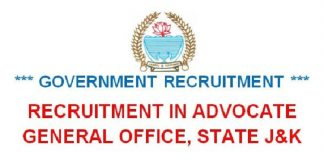 Advocate General, J&K Recruitment