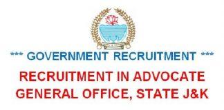 Advocate General, J&K Recruitment