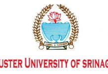 Cluster University of Srinagar (CUS)
