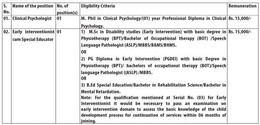 Government Medical College Srinagar Recruitment 2018 for Contractual Jobs