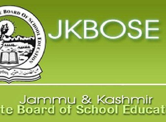J&K State Board of School Education (JKBOSE)