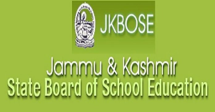 Jammu & Kashmir State Board of School Education (JKBOSE)