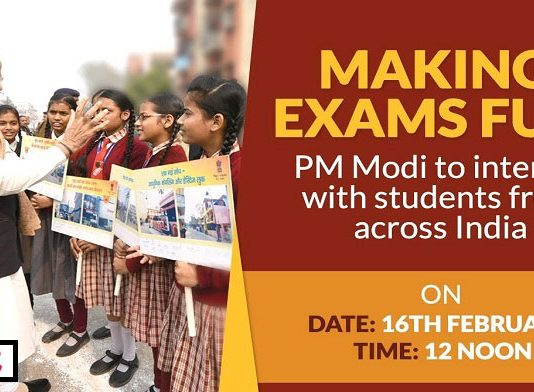 LIVE: PM Modi's address to students about Board Exams