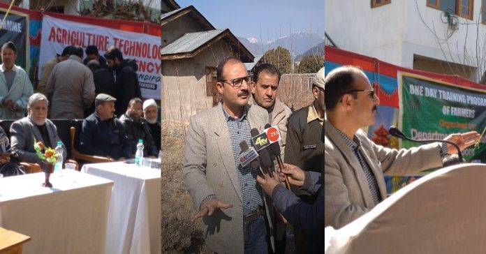Sericulture Department organizes Training Programme for farmers in Bandipora