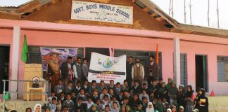 Government Middle School Wagoora concludes week-long cleanliness drive