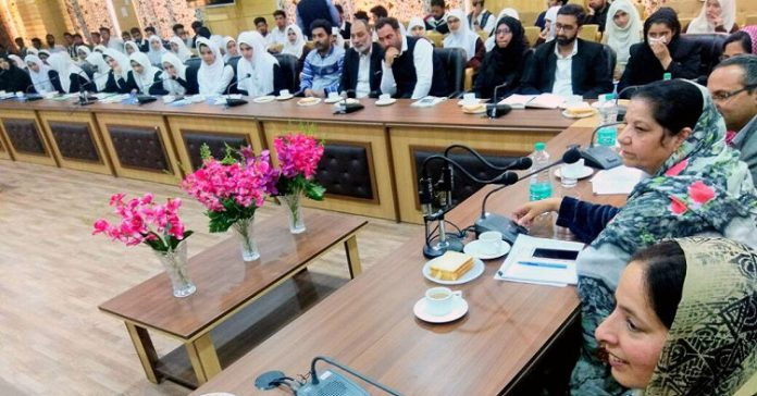 Women's Commission organizes Legal Awareness Programme at Bandipora - Chairperson, J&K State Commission for Women, Nayeema Ahmad Mehjoor