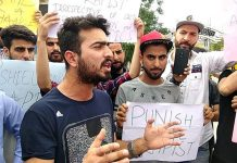 Asifa's Rape & Murder: Desh Bhagat University students protest in Chandigarh