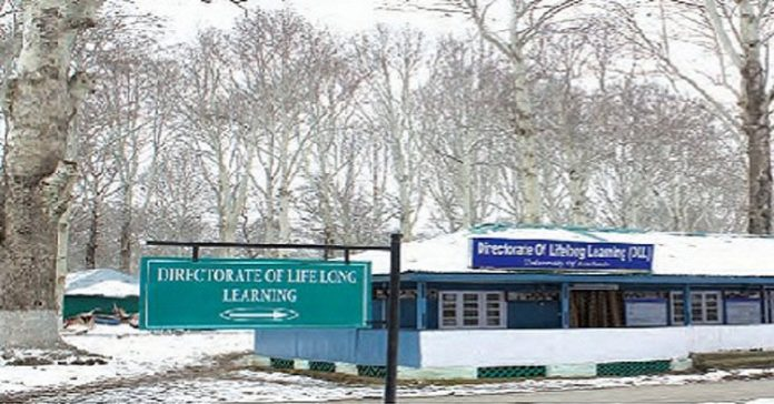 Directorate of Lifelong Learning - University of Kashmir