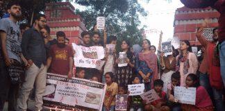Justice for Asifa: Kashmiri students hold candlelight vigil in Dehradun