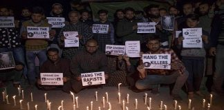 Justice for Asifa: People hold candlelight protest in Pulwama