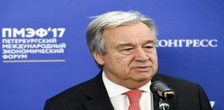 UN Chief Antonio Guterres