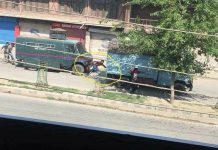 Caught On Camera: Civilian killed after being run over by forces' vehicle