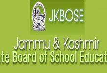 Jammu & Kashmir State Board of School Education - JKBOSE