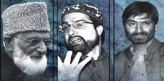 Joint Resistance Leadership - JRL - Hurriyat Conference - Kashmir