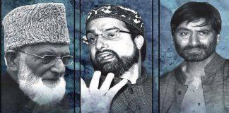 Joint Resistance Leadership - JRL - Hurriyat Conference - Kashmir