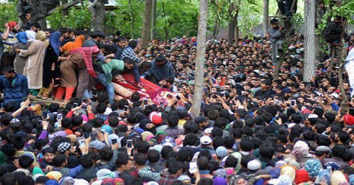 Thousands participate in funeral prayers of Sadam Padder, Bilal