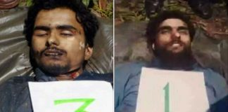 Post exhumation, slain militants laid to rest in south Kashmir