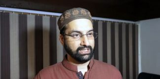 Ready for mass agitation if Article 35-A tinkered with, says Mirwaiz