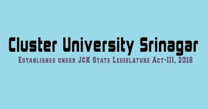 Cluster University Srinagar (CUS)