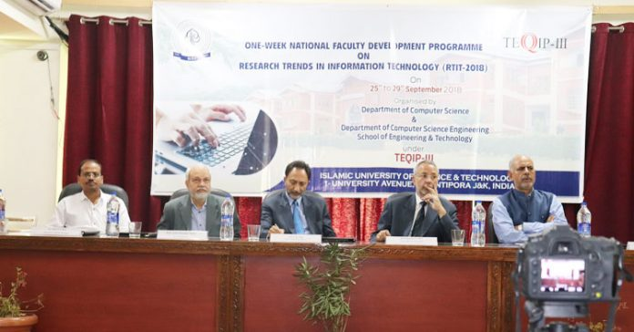 IUST to host eminent experts during five-day national workshop