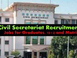 J&K Legislative Council Recruitment 2018 for 28 Posts