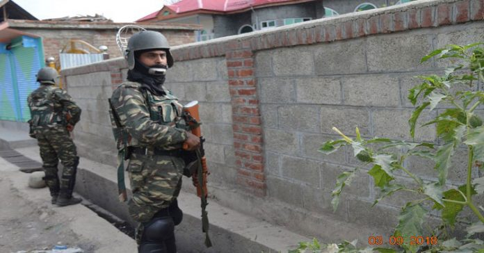 More than a dozen villages under massive CASO in Pulwama