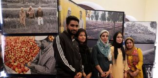 Photography Exhibition Visit by Journalism students of IUST