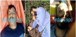 Three cops killed by militants after abduction in Shopian