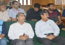 Launch event of 'The Kashmir Radar' online news portal