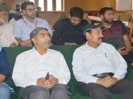 Launch event of 'The Kashmir Radar' online news portal