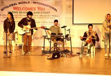 FRK Music Band's Performance at BitGlobal Event