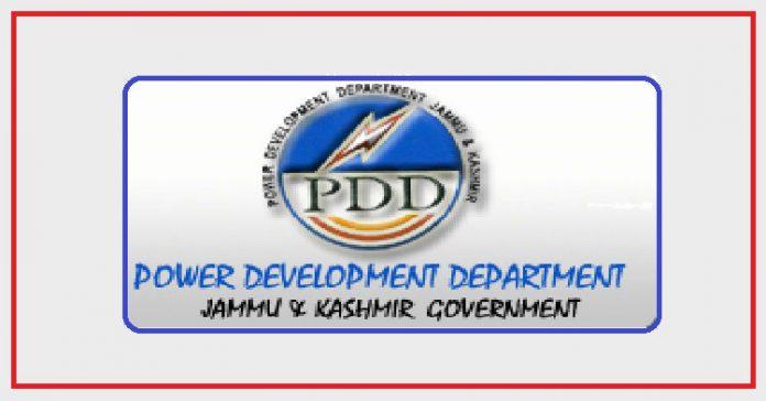 J&K Power Development Department (JK PDD)