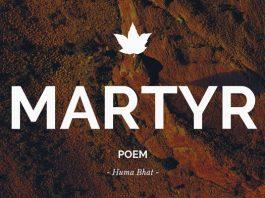 Martyr - Poem