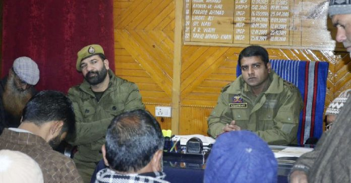 PCPG meeting held at Police Station Pulwama