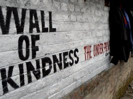 'Wall Of Kindness' comes up in Awantipora